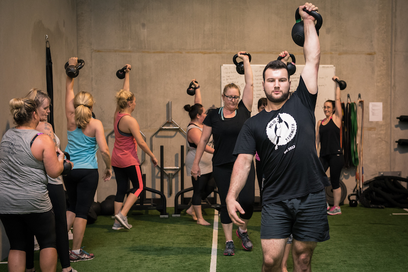 eastgardens fitness classes kettlebell training