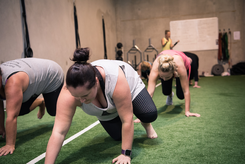 hillsdale core fitness bear crawl