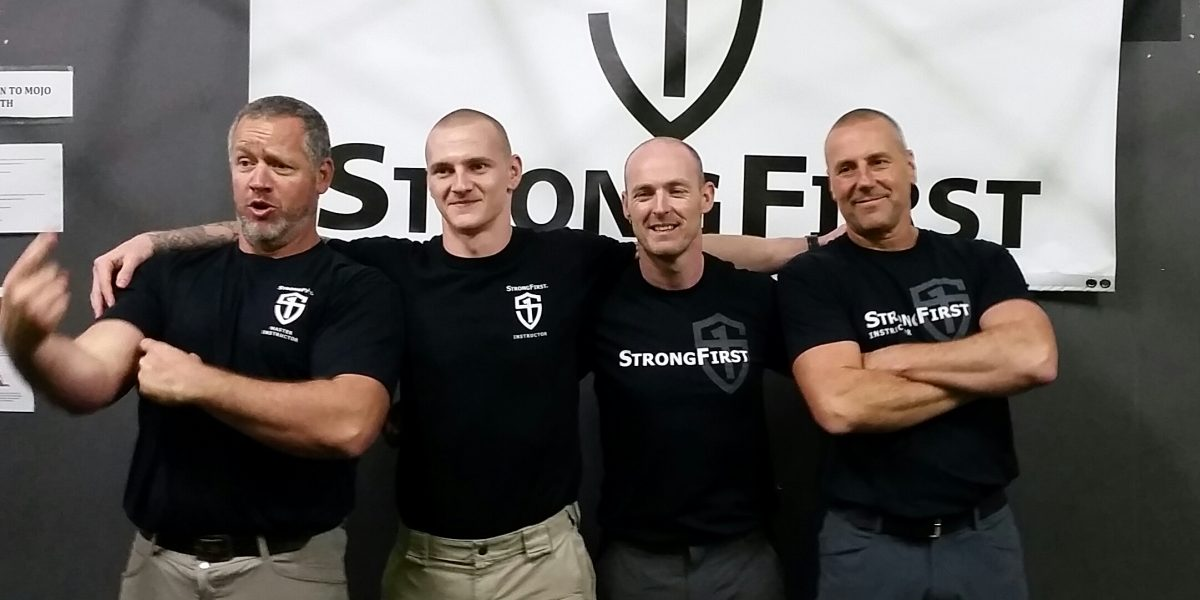 StrongFirst SFG 1 Sydney