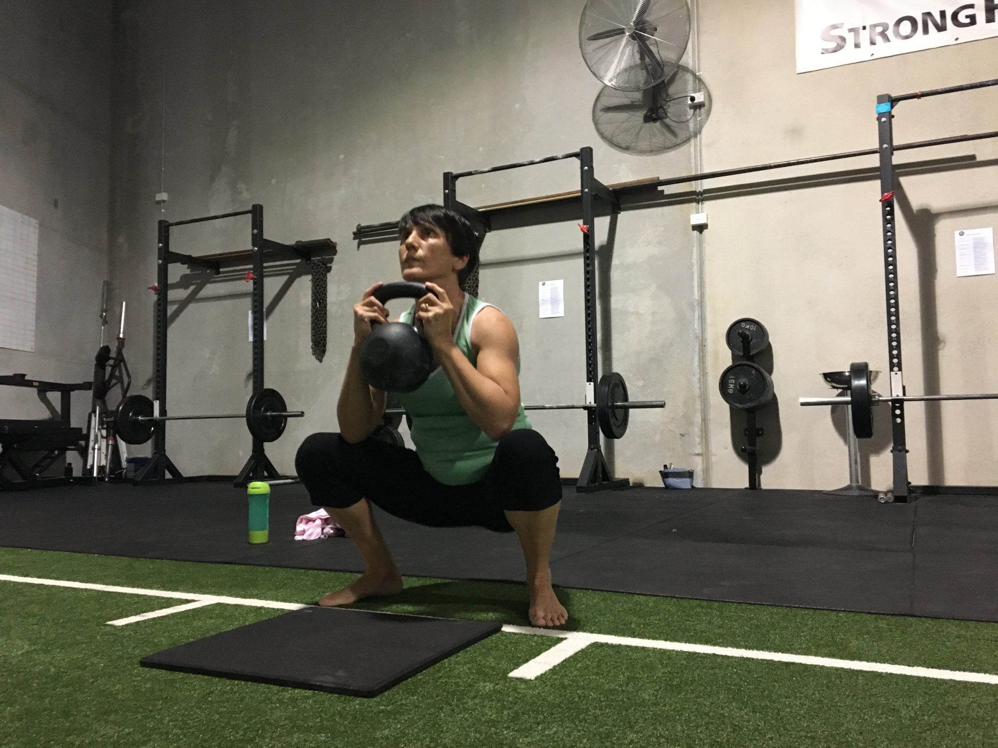 Kettlebells the fountain of youth
