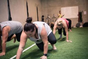 hillsdale core fitness bear crawl