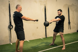 maroubra strength training kettlebell swing