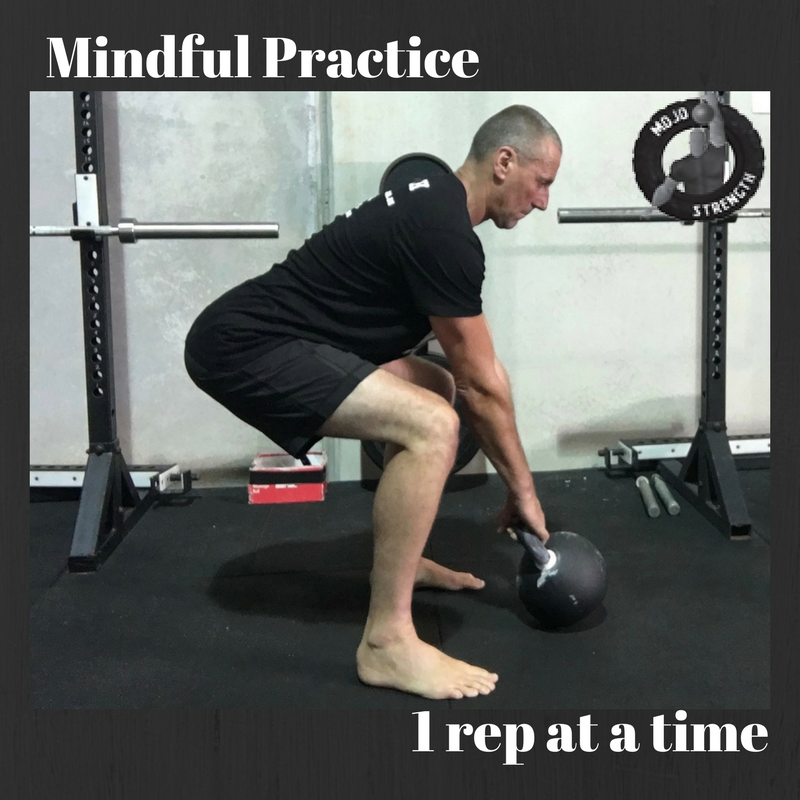 Mindful practice the Swing